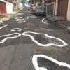 Vila Santana tem operação Pinta Buracos