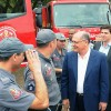 Alckmin entrega viaturas para Bombeiros de Campinas