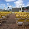 Praça Arautos da Paz recebe projeto de cinema