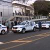 Taxistas protestam contra o Uber na Câmara