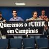Motoristas do Uber cobram a regulamentação da categoria na Câmara