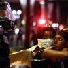 Moradores fazem manifestações nas ruas de Charlotte