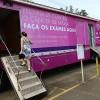 Mamografias na carreta do Hospital do Câncer começam hoje (17)