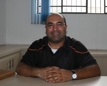 Padre Paulo Emiliano paroco da Igreja de Sant'Ana