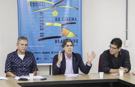 Sérgio Fidalgo, Guilherme Reis e Renato Barbieri - foto Júnior Aragão