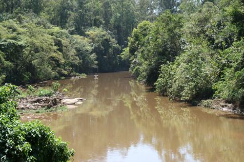 Rio Jaguari é um dos alvos da barragem em Pedreira