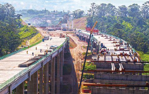 O Rodoanel Norte é a maior obra rodoviária