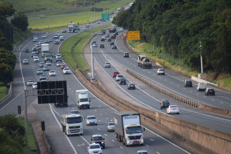 A rodovia D. Pedro I contará com o maior volume de trânsito