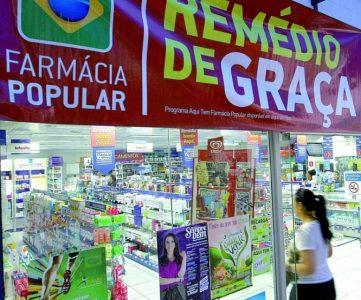 Nas farmácias populares o usuário do SUS pode retirar alguns medicamentos de graça