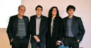 : João Pinto Ribeiro, fundador da Rede Tauá; Daniel Chequer, diretor financeiro; Lizete Ribeiro, diretora comercial e de marketing da rede; e Robson Alves, diretor de operações do Brazilian Business Park