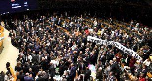 Aliados partidários  votaram pela investigação