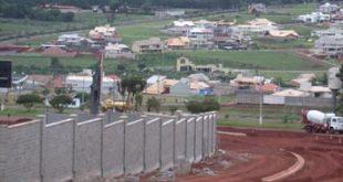 Urbanização próxima às  áreas rurais