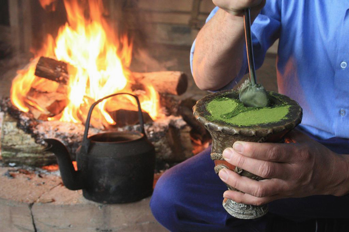 Chimarrão: bebida típica da região sul